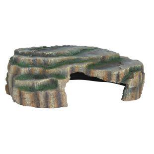 TRIXIE Декорация для террариума, скала 30х10х25 см