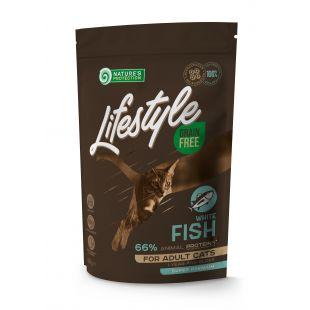 NATURE'S PROTECTION LIFESTYLE Сухой корм для кошек Lifestyle Grain Free White Fish Adult 400 г