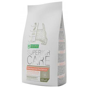 NATURE'S PROTECTION SUPERIOR CARE Kuivtoit koertele White dogs Small & Mini Breeds Adult Grain Free Salmon 10 kg