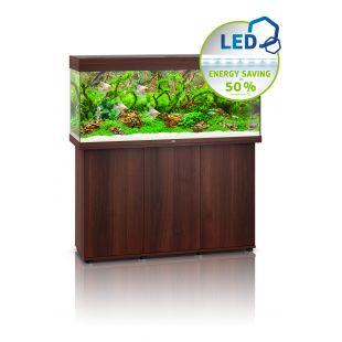 JUWEL LED Rio 240 akvaarium tumedast puust, 240 l, 121 x 41 x 55 cm
