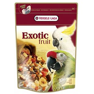 VERSELE LAGA Prestige Premium Exotic Fruit корм с фруктами для крупных попугаев 600 г