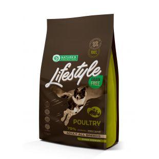 NATURE'S PROTECTION LIFESTYLE Сухой корм для собак All Breeds Adult Grain Free Poultry 1.5кг