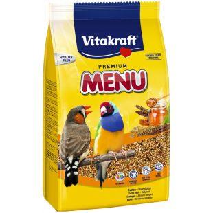 VITAKRAFT Premium Menu Exotis корм  для экзотических птиц 500 г