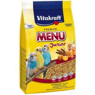VITAKRAFT Menu Budgies Kids корм для волнистых попуагев 500 г
