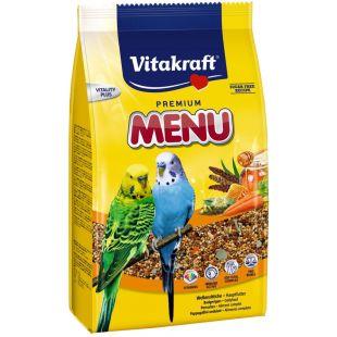 VITAKRAFT MR Menu Vital корм для волнистых попугаев 500 г