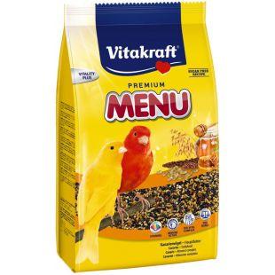 VITAKRAFT Menu Vital Honey toit kanaari lindudele 500 g