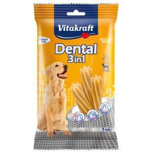 VITAKRAFT Dental 3in1 Medium närimispulgad koertele 180 g