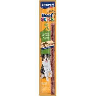 VITAKRAFT Beef Stick  лакомство для собак с овощами 1 шт.