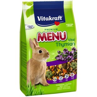 VITAKRAFT Menu thymian корм для кролика 1 кг