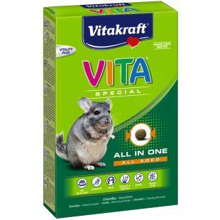 VITAKRAFT Vita Special Regular toit tšintšiljadele 600 g