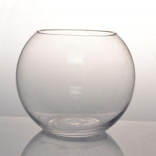 CENTURY VIEW Стеклянный аквариум-ваза, круглый 20x16 см