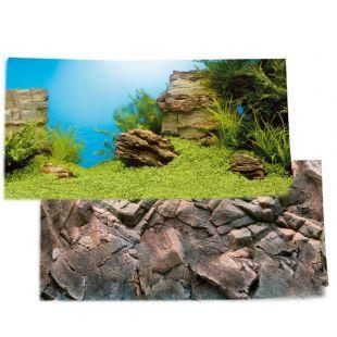 JUWEL Juwel Poster Фон для аквариума, двухсторонний 80-100см x 50см