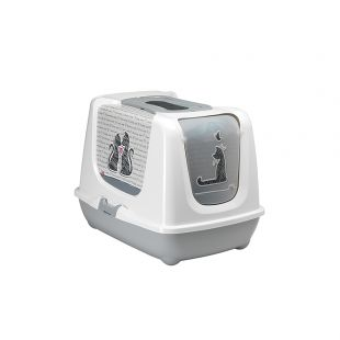 MODERNA Cats in Love Туалет - дом для кошек 50x39.5x37.5 см