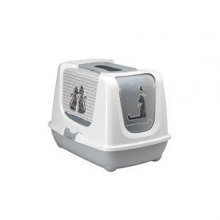 MODERNA Cats in Love tualettmaja kassidele 50x39.5x37.5 cm