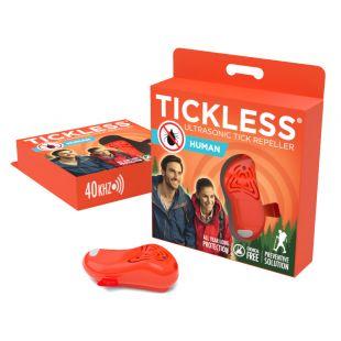 TICKLESS Брелок-отпугиватель клещей для людей TickLess Human оранжевый