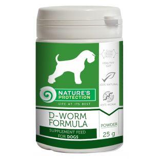 NATURE'S PROTECTION D-Worm Formula toidulisand koertele 25 g