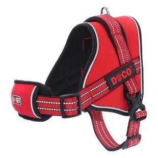 DOCO VERTEX traksid punased, XL