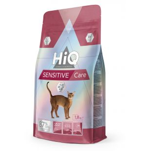 HIQ Sensitive Care корм для кошек 1,8 кг