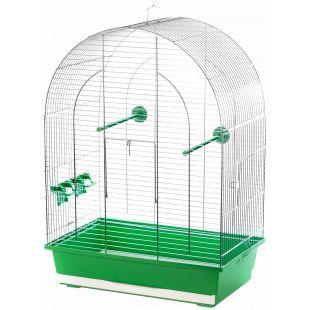 INTERZOO LUSI Клетка для птицы, оцинкованная 45x28x63 cм