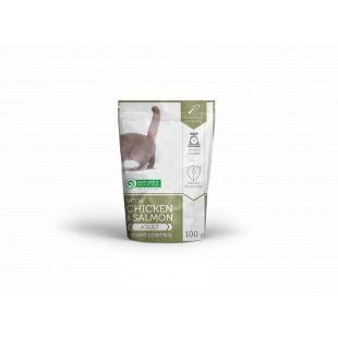 NATURE'S PROTECTION Weight Control kassikonservid kanaliha ja lõhega 100 g x 6