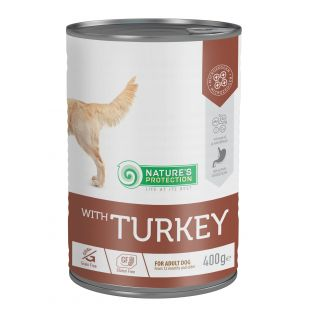 NATURE'S PROTECTION Sensitive Turkey Консервы для собак 400 г