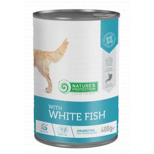 NATURE'S PROTECTION Sensible digestion white fish Консервы для собак 400 г