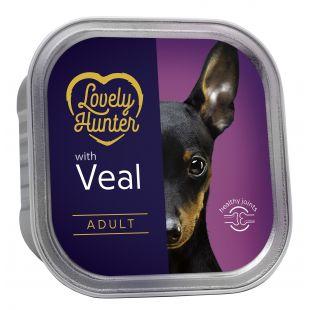 LOVELY HUNTER Dog Adult Veal koerakonservid 150 g
