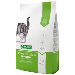 NATURE'S PROTECTION Kuivtoit kassidele Urinary Formula-S Adult 1 year and older Poultry 7 kg x 2