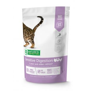 NATURE'S PROTECTION Сухой корм для кошек Sensitive Digestion Adult 1 year and older Poultry 400г