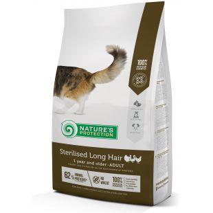 NATURE'S PROTECTION Kuivtoit steriliseeritud kassidele Sterilised Long Hair Adult 1 year and older Poultry 2 kg