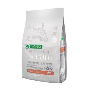 NATURE'S PROTECTION SUPERIOR CARE Сухой корм для собак White dogs Small & Mini Breeds Adult Grain Free Salmon 1.5 кг