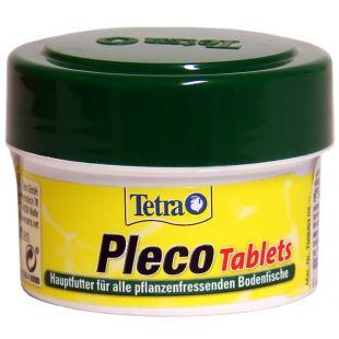 TETRA Pleco Tablets корм для растительноядных аквариумных рыбок,  58 шт.