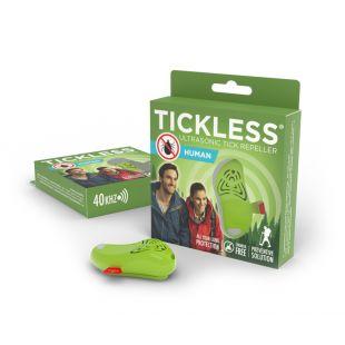 TICKLESS Ripats puugi tõrjumiseks inimestele TickLess Human 1 tk., roheline