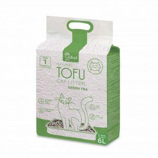 VELVET PAW TOFU kassiliiv rohelise tee ekstraktiga, 6 l