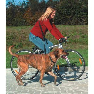 TRIXIE Jalgratta jalutusrihm koertele must, 0.25x100-200 cm