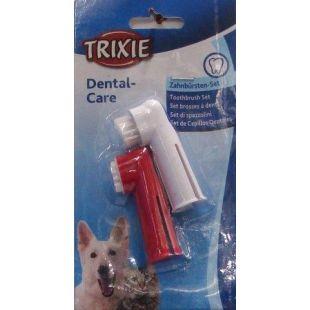 TRIXIE Щеточки-напальчники для чистки зуб 2 шт.