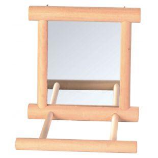TRIXIE Игрушка для птиц, Зеркальце 9x9 см