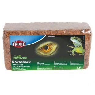 TRIXIE Подложка для террариума 4,5 л, кокосовая шелуха (Kokoshack)