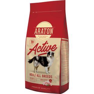 ARATON Adult Active koeratoit 15 kg