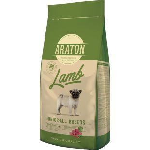 ARATON Kuivtoit koertele Junior Lamb 15 kg