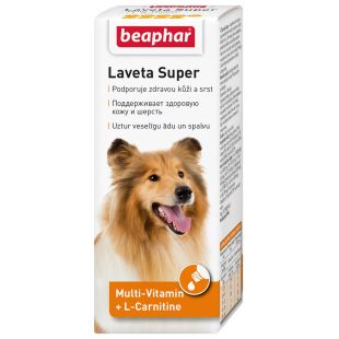BEAPHAR Laveta super hund битамины для шерсти 50 мл