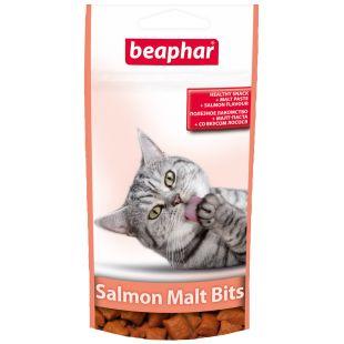 BEAPHAR Malt-Bits Salmon Cat Maiustused-padjakesed 35 g
