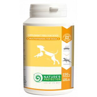 NATURE'S PROTECTION Multivitamins for Dogs добавка для собак 150 г