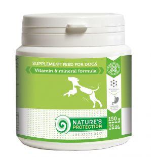 NATURE'S PROTECTION Vitamin & Mineral Formula добавка для собак 150 г