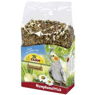 JR FARM Individual Cockatiels - täisväärtuslik nümfkakaduude sööt 1 kg