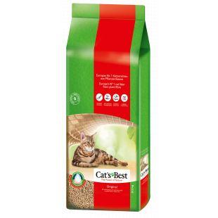 JRS CAT'S BEST ORIGINAL kassiliiv, puidust, paakuv 17,2 kg (40 l)