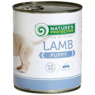 NATURE'S PROTECTION Puppy Lamb Консервы для щенков 800 г x 6