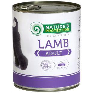 NATURE'S PROTECTION Adult Lamb Консервы для взрослых собак 800 г x 6