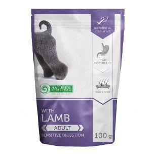 NATURE'S PROTECTION Dog adult lamb koerakonservid lambalihaga 100 g