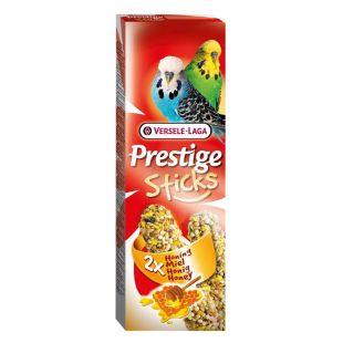 VERSELE LAGA Prestige Sticks лакомство для волнистых попугайчиков с семенами и медом, 2 шт
